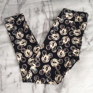 LuLaRoe Disney Winking Mickey Mouse Leggings